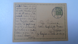 D166510  Czechoslovakia -Entier  Postal Stationery - Ganzsache - PRAHA 1933 - Briefe U. Dokumente