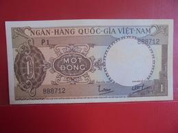 VIETNAM(SUD) 1 DÔNG 1964 PEU CIRCULER - Vietnam