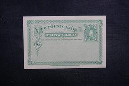 TERRE NEUVE - Entier Postal Non Circulé - L 37910 - Entiers Postaux