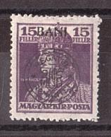 Roumanie - Occupation Transylvanie Cluj - 1919 - N° 32 - Neuf * - Tp De Hongrie Surchargé - Besetzungen