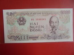 VIETNAM(NORD) 2000 DÔNG 1988 PEU CIRCULER/NEUF - Vietnam