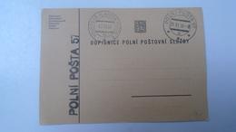 D166512  Czechoslovakia - Polní Posta 57 - Volenska  Vlakova  Posta 1  1938 - Military Post - Briefe U. Dokumente