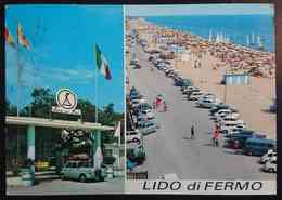 LIDO DI FERMO - Spiaggia, Camping Riva Dei Pini -   Vg - Fermo
