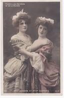 Photo Boyer Paris -  Melle G. COSTA Et Melle DEBRIVES -  Théâtre Des Variétés Dans M. De La Palisse - Dos Simple - Artistes
