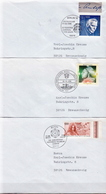 Postal History: 3 Germany Covers From 1996 - [7] Federal Republic