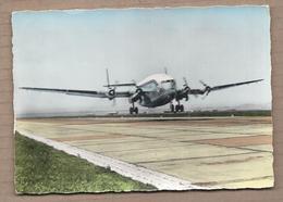 CPSM 13 - MARIGNANE - MARSEILLE - Carrefour Du Monde - AIR FRANCE Bréguet 2 Ponts SUPERBE GROS PLAN 1961 - Marignane
