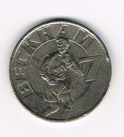 // PENNING BECKHAM  7 - MANCHESTER UNITED 1998/1999 - THE TREBLE - Regno Unito