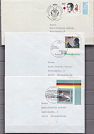 Postal History: 3 Germany Covers And Card From 1995-96 - [7] Federal Republic