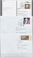 Postal History: 3 Germany Covers And Card From 1995 - [7] Federal Republic