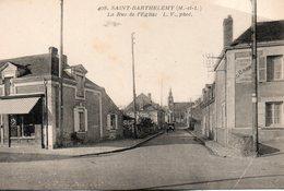 St - Barthelemy -   La  Rue  De  L' église. - Autres Communes