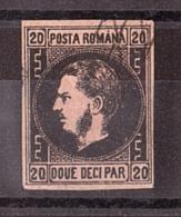 Roumanie - 1866/67 - N° 16 - Prince Charles - Cote 45 - 1858-1880 Moldavia & Principato