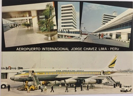 (652) Peru - Lima - Aeropuerto International Jorge Chavez - Pan American - Grace - Peru