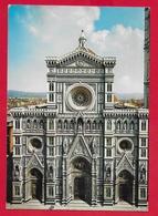 CARTOLINA VG ITALIA - FIRENZE - Facciata Del Duomo - 10 X 15 - 1982 - Firenze