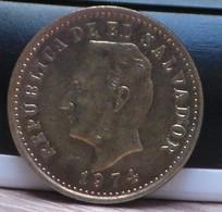 Republica De El Salvador 1974 , 2 Centavos - Salvador