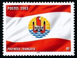 POLYNESIE 2003 - Yv. 697 **         Drapeau Polynésien  ..Réf.POL24184 - Polynésie Française