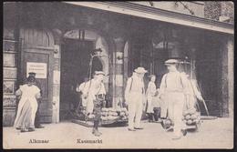 00124 - Alkmaar, Kaasmarkt - Gelopen 1917 - Alkmaar