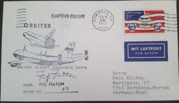 - US - ORBITER CAPTIVE FLIGHT - FLIGHT 2 - AUTOGRAPHE PILOTE FITZ FULTON - Etats-Unis