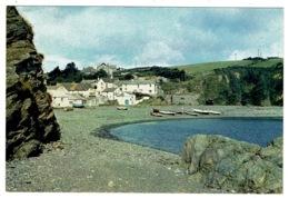Ref 1314 - J. Arthur Dixon Postcard - Porthallow Fishing Village Cornwall - Other
