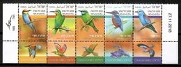 Israel 2018 / Birds MNH Vögel Aves Oiseaux / Cu14305  41-28 - Vögel