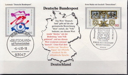 Germany Cover With Special Cancel - [7] Federal Republic