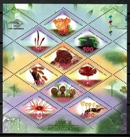 Indonesia 1999 / Mushrooms MNH Setas Pilzen Champignons / Cu14306  41-33 - Hongos