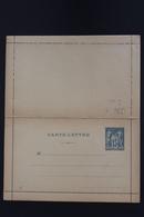 France Carte Lettre K1 Not Used - Enteros Postales