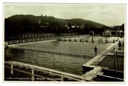 Ref 1314 - Real Photo Postcard - Schwimmbad - Luftkurort Jugenheom A.d. Bergstr. Germany - Darmstadt