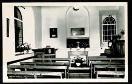 Ref 1314 - Real Photo Postcard - Hawkshead Methodist Chapel - Lake District Cumbria - Cumberland/ Westmorland