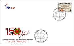TURKEY/2018 - (FDC) 150th YEAR OF THE COURT OF CASSATION, MNH - Nuevos