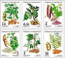 TURKEY/2018 - PULSES THEME DEFINITIVE STAMPS, MNH - Nuevos