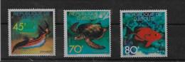 Serie De Djibuti Nº Yvert 465/67 ** PECES (FISHES) - Yibuti (1977-...)