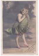 Photo Walery Paris -  ODETTE AUBER -  Ambassadeurs -  Dos Simple 1904 Cachet B M - Artistes