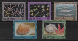 Serie De Man Nº Yvert 541/45 ** PECES (FISHES) - Isla De Man