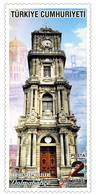 TURKEY / 2018 - HISTORICAL CLOCK-TOWERS (ISTANBUL), MNH - Nuevos