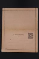 France Carte Lettre K2 Not Used - Enteros Postales