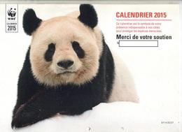 Calendrier 2015 WWF Panda Elephant Etc + Lettre + Etiquette - Calendriers