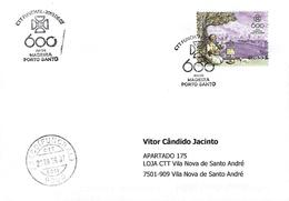 PORTUGAL - Commemorative Postmark -  600 Years Of Madeira - Porto Santo - Marcophilie