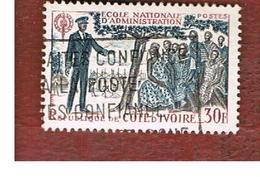COSTA D'AVORIO (IVORY COAST) - SG 280 -   1966  NATIONAL ADMINISTRATION SCHOOL      -  USED ° - Costa D'Avorio (1960-...)