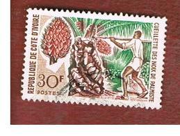 COSTA D'AVORIO (IVORY COAST) - SG 288 -   1967  FRUITS: PALM NUTS     -  USED ° - Costa D'Avorio (1960-...)