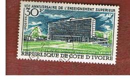 COSTA D'AVORIO (IVORY COAST) - SG 332   -   1970 ABIDJAN UNIVERSITY  -  USED ° - Costa D'Avorio (1960-...)