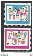 DDR, 1968, Michel-Nr. 1432-1433, **postfrisch - Neufs