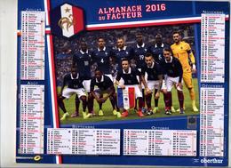 Almanach Du Facteur 2016 Equipe France Football - Kalenders