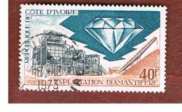 COSTA D'AVORIO (IVORY COAST) - SG 396   -   1972 DIAMOND INDUSTRY -  USED ° - Ivory Coast (1960-...)