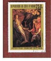 COSTA D'AVORIO (IVORY COAST) - SG 527   -   1978 P.P. RUBENS: ANNUNCIATION -  USED ° - Costa De Marfil (1960-...)