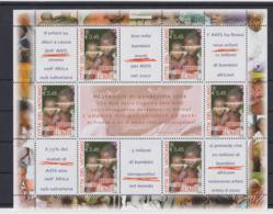 Vatican 2010 AIDS Children Souvenir Sheet MNH/** (LAR-H57) - Malattie