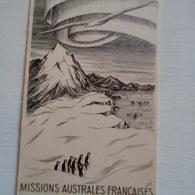 MISSIONS AUSTRALES FRANCAISES ILLUSTRATEUR  R.M - Missie