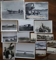 Photographies Originales Lot De 16 Photos  Avions + Armée Allemande WWII 39 - 45 - Aviazione
