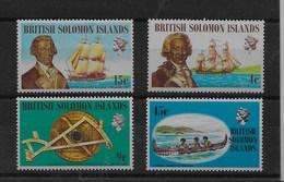 Serie De Islas Salomon Nº Yvert 209/12 ** BARCOS (SHIPS) - Islas Salomón (1978-...)