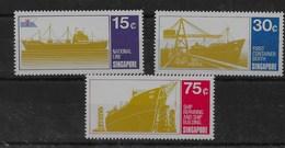 Serie De Singapur Nº Yvert 122/24 ** BARCOS (SHIPS) - Singapur (1959-...)