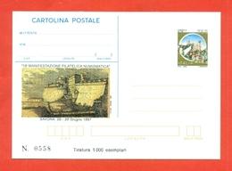 INTERO POSTALE-INTERI POSTALI I.P.Z.S.-CARTOLINA POSTALE-I.P.Z.S.-MARCOFILIA- SALONI COLLEZIONISMO-SAVONA - 1946-.. Republiek